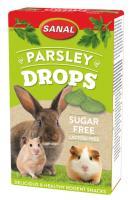 Sanal Parsley Drops Sugar&Lactose Free, 45g - pētersiļu gardumi, bez laktozes un cukura