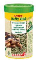 Sera Raffy Vital Nature, 250ml - barība sauszemes bruņurupučiem un citām reptilijām-zaļēdājiem